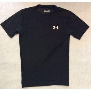 Under Armour Mens Heat Gear Compression Shirt Sz L